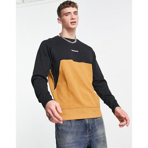Sweat-shirt effet coupé cousu - Fauve blé - Timberland - Modalova