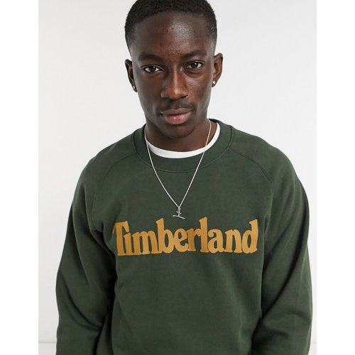 Sweat-shirt ras de cou - Huître - Timberland - Modalova