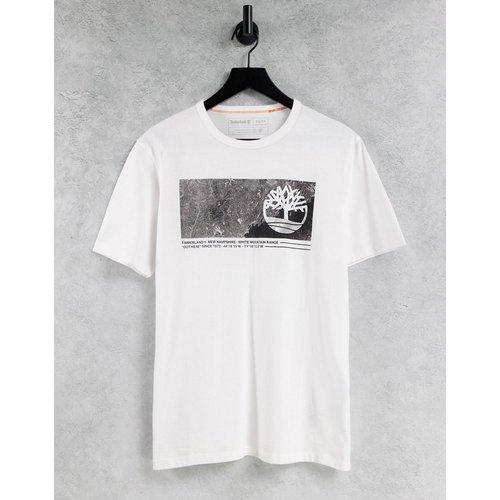T-shirt à motif graphique linéaire - Timberland - Modalova