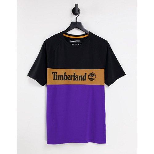 T-shirt effet coupé-cousu - /violet - Timberland - Modalova