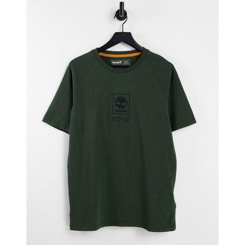 T-shirt épais à logo effet superposé - foncé - Timberland - Modalova