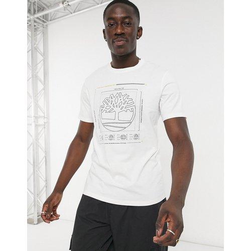 Timberland - T-shirt logo-Blanc - Timberland - Modalova