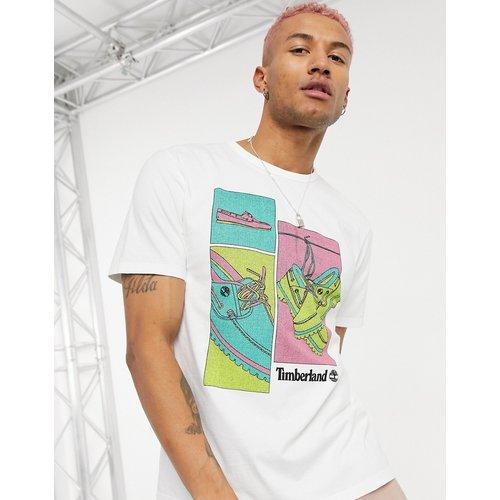 T-shirt motif chaussures bateau - Timberland - Modalova