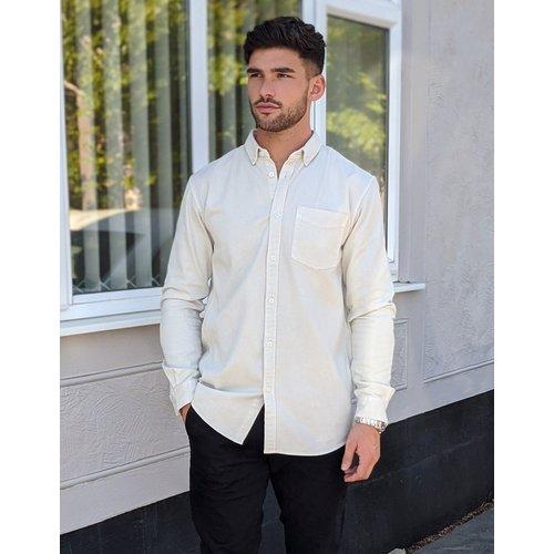 Chemise en sergé à teinture pigmentée - Tom Tailor - Modalova