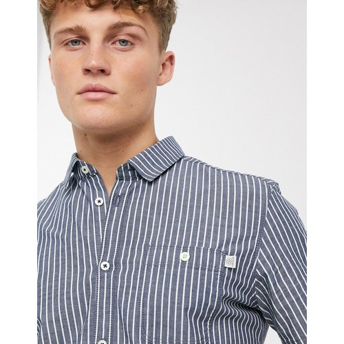 - Chemise stretch à rayures - Tom Tailor - Modalova