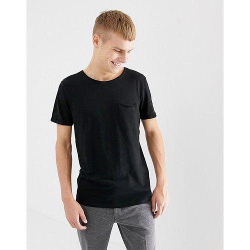 T-shirt à col rond avec poche - Tom Tailor - Modalova