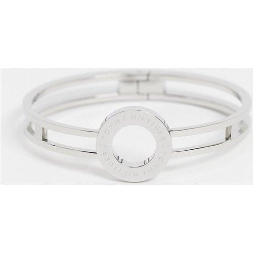Bracelet jonc avec logo - Tommy Hilfiger - Modalova