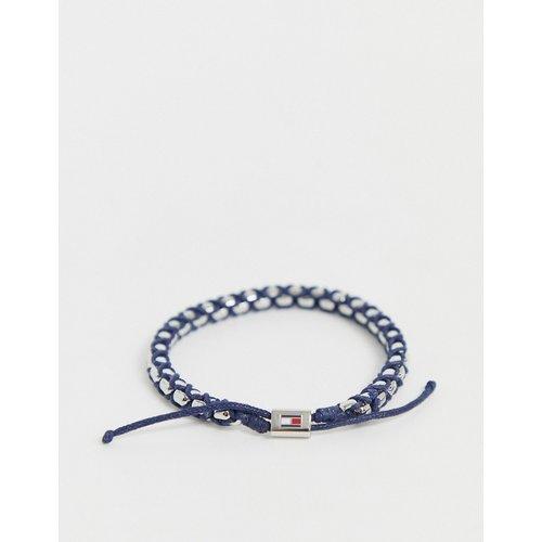 Bracelet tressé - Bleu - Tommy Hilfiger - Modalova