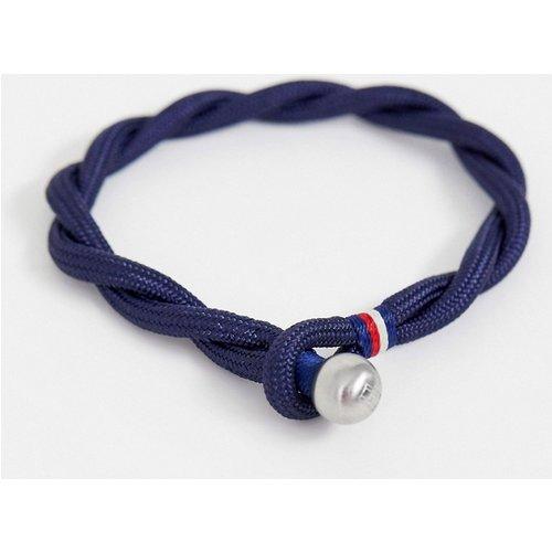 Bracelet tressé - marine - Tommy Hilfiger - Modalova