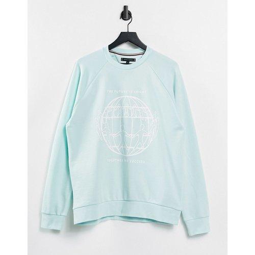 Capsule One Planet - Sweat-shirt unisexe imprimé sur l'avant - Tommy Hilfiger - Modalova