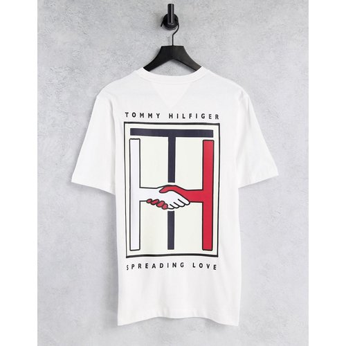 Capsule One Planet - T-shirt unisexe imprimé au dos - Tommy Hilfiger - Modalova