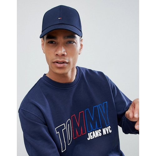 Casquette de baseball classique avec logo drapeau - Bleu - Tommy Hilfiger - Modalova