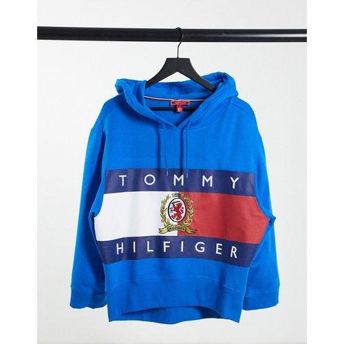 Collections - Hoodie à logo écusson drapeau - Tommy Hilfiger - Modalova
