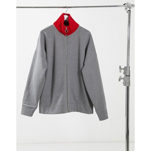 Collections - Sweat-shirt à col en maille - Tommy Hilfiger - Modalova