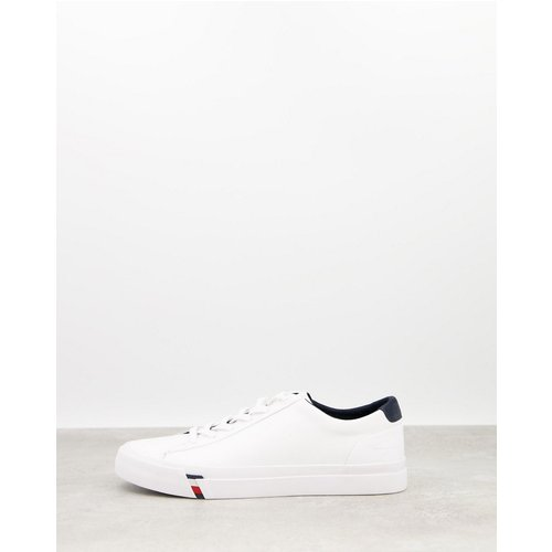 Corporate - Baskets en cuir - Tommy Hilfiger - Modalova
