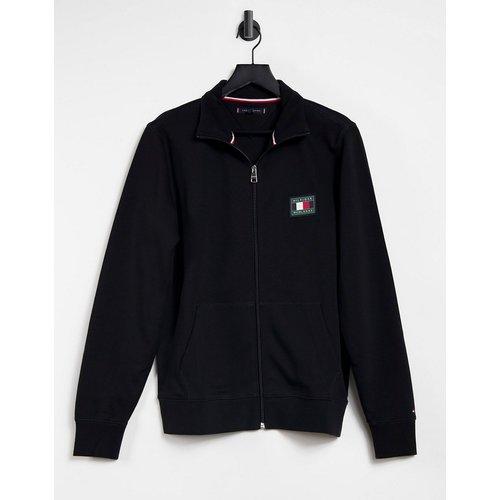 Essentials - Sweat-shirt zippé avec logo emblématique - Tommy Hilfiger - Modalova