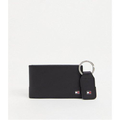 Eton - Coffret cadeau avec porte-monnaie en cuir et porte-clés - Tommy Hilfiger - Modalova