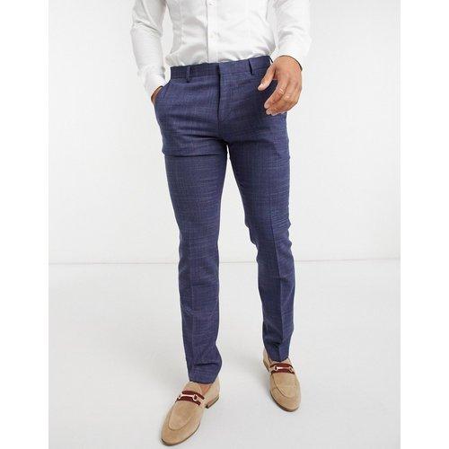 Pantalon habillé coupe ultra slim - Bleu marine - Tommy Hilfiger - Modalova