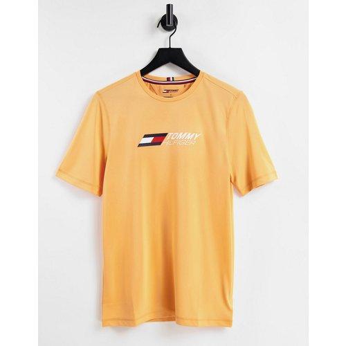 Performance - T-shirt à logo sur la poitrine - Tommy Hilfiger - Modalova