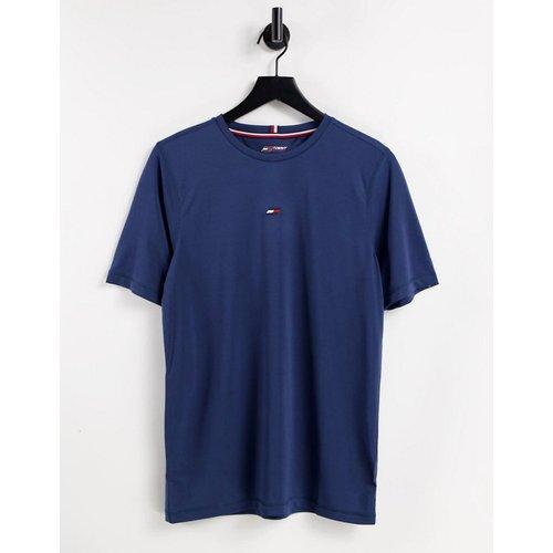 Performance - T-shirt avec petit logo drapeau sur la poitrine - Tommy Hilfiger - Modalova