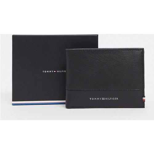 Portefeuille en cuir à deux volets avec poche à monnaie - Tommy Hilfiger - Modalova