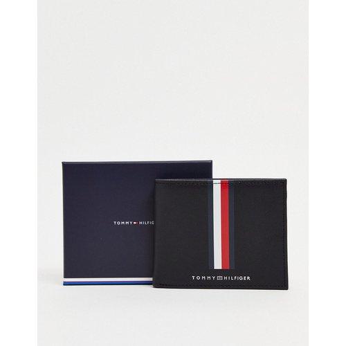 Portefeuille en cuir avec bande logo - Tommy Hilfiger - Modalova