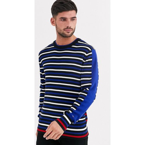 Pull en maille à rayures - Tommy Hilfiger - Modalova