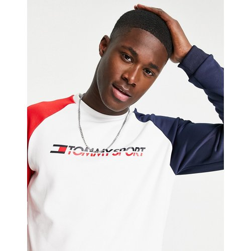Sport - Sweat-shirt ras de cou en maille - Tommy Hilfiger - Modalova