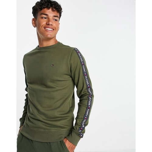 Sweat-shirt confort à bandes logo - Tommy Hilfiger - Modalova