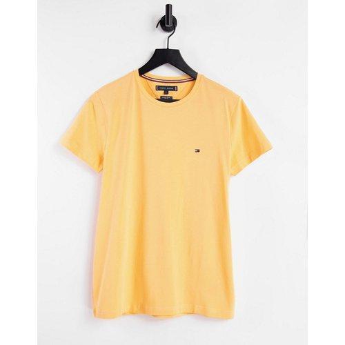 T-shirt ajusté avec petit logo sur le devant - Tommy Hilfiger - Modalova