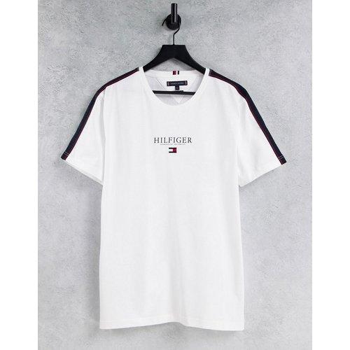 T-shirt avec bandes sur les épaules - Tommy Hilfiger - Modalova