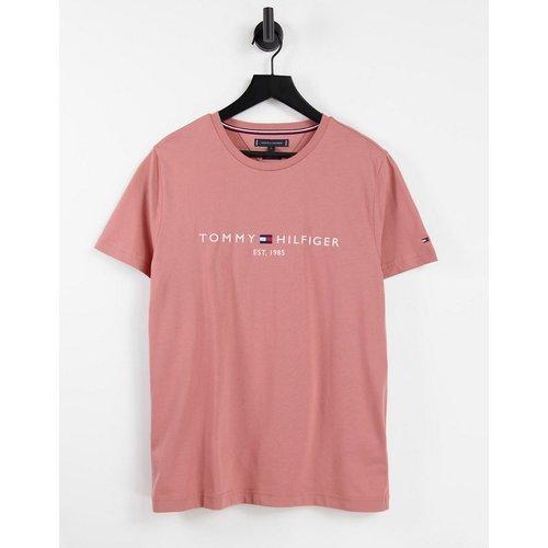 T-shirt avec logo classique - Tommy Hilfiger - Modalova