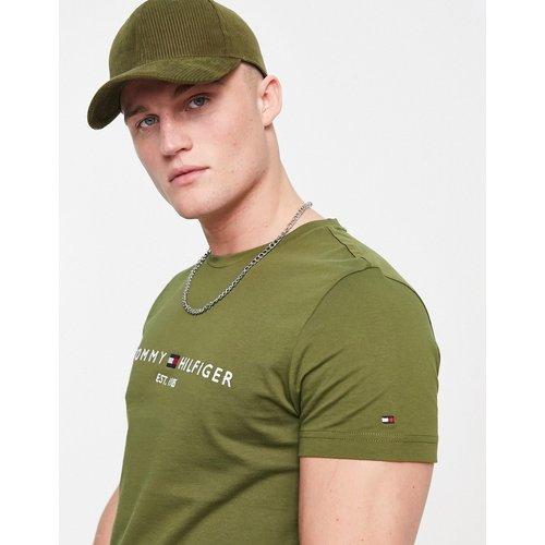 T-shirt classique à logo - foncé - Tommy Hilfiger - Modalova