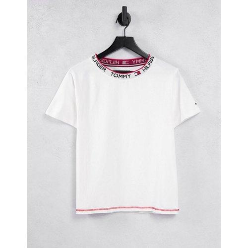 T-shirt rétro classique à manches courtes - Tommy Hilfiger - Modalova