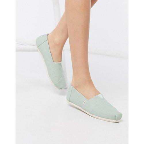Alpargata - Chaussures plates en toile - menthe - TOMS - Modalova