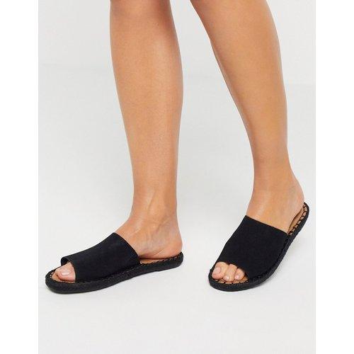 Clarita - Sandales style espadrilles à enfiler en daim - TOMS - Modalova