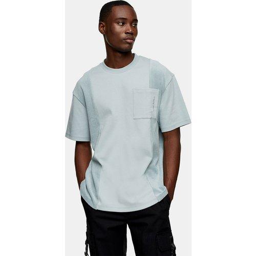 Abyss - T-shirt duveteux avec poche - Topman - Modalova
