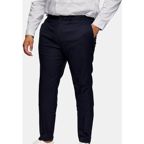 Big & Tall - Pantalon de costume ajusté - marine - Topman - Modalova