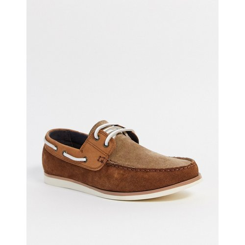 Topman - Chaussures bateau - Fauve - Topman - Modalova