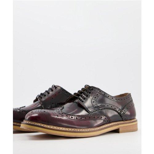 Chaussures richelieu en cuir - Topman - Modalova