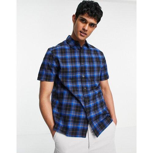 Topman - Chemise à carreaux - Bleu - Topman - Modalova