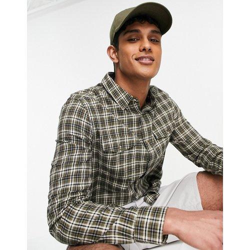 Chemise à carreaux - Kaki - Topman - Modalova