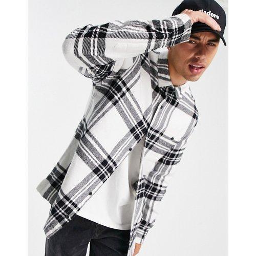 Chemise à carreaux - et blanc - Topman - Modalova