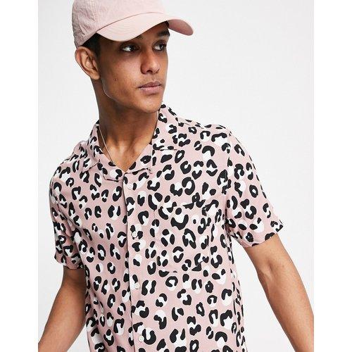 Chemise à imprimé animal - Topman - Modalova