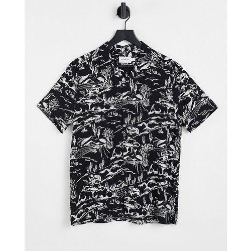 Chemise à imprimé style western - et blanc - Topman - Modalova