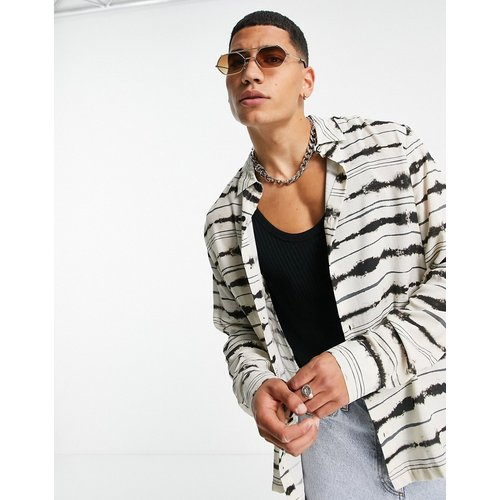 Chemise à rayures horizontales - Topman - Modalova