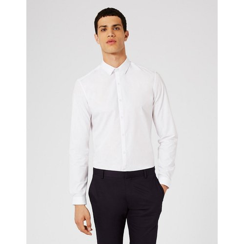 Chemise ajustée habillée - Topman - Modalova