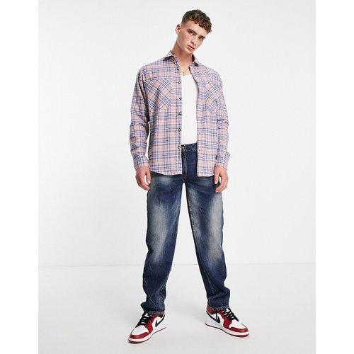 Chemise oversize à carreaux - Topman - Modalova
