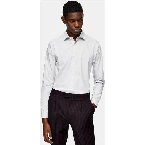 Chemise stretch à manches longues - clair - Topman - Modalova