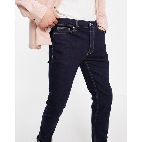 Jean skinny stretch en coton biologique mélangé - Denim brut - Topman - Modalova